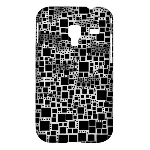 Block On Block, B&w Samsung Galaxy Ace Plus S7500 Hardshell Case