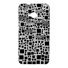 Block On Block, B&w HTC One M7 Hardshell Case