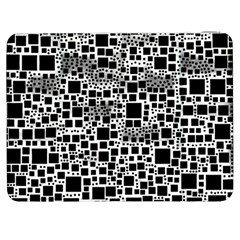 Block On Block, B&w Samsung Galaxy Tab 7  P1000 Flip Case