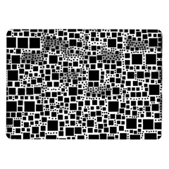 Block On Block, B&w Samsung Galaxy Tab 10.1  P7500 Flip Case