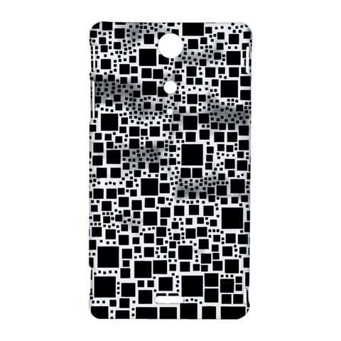 Block On Block, B&w Sony Xperia TX