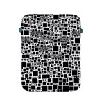 Block On Block, B&w Apple iPad 2/3/4 Protective Soft Cases Front
