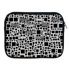 Block On Block, B&w Apple iPad 2/3/4 Zipper Cases