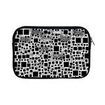 Block On Block, B&w Apple iPad Mini Zipper Cases Front