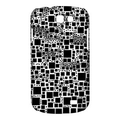 Block On Block, B&w Samsung Galaxy Express I8730 Hardshell Case