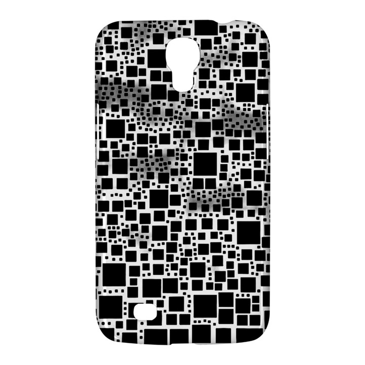 Block On Block, B&w Samsung Galaxy Mega 6.3  I9200 Hardshell Case