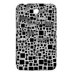 Block On Block, B&w Samsung Galaxy Tab 3 (7 ) P3200 Hardshell Case