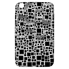 Block On Block, B&w Samsung Galaxy Tab 3 (8 ) T3100 Hardshell Case