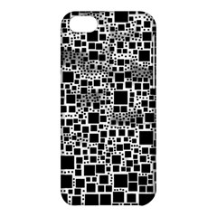 Block On Block, B&w Apple iPhone 5C Hardshell Case