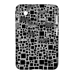 Block On Block, B&w Samsung Galaxy Tab 2 (7 ) P3100 Hardshell Case