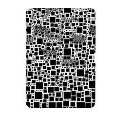 Block On Block, B&w Samsung Galaxy Tab 2 (10 1 ) P5100 Hardshell Case