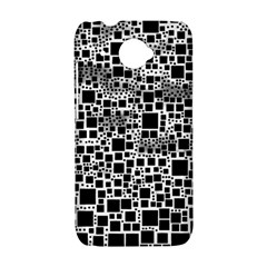 Block On Block, B&w HTC Desire 601 Hardshell Case