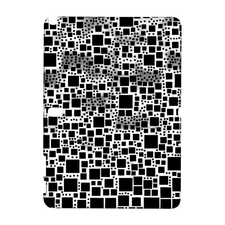 Block On Block, B&w Samsung Galaxy Note 10.1 (P600) Hardshell Case