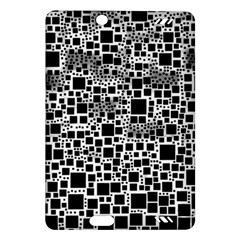 Block On Block, B&w Amazon Kindle Fire Hd (2013) Hardshell Case