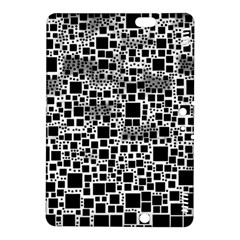 Block On Block, B&w Kindle Fire Hdx 8 9  Hardshell Case