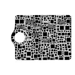 Block On Block, B&w Kindle Fire Hd (2013) Flip 360 Case