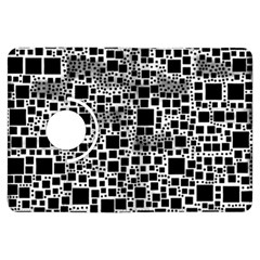 Block On Block, B&w Kindle Fire Hdx Flip 360 Case
