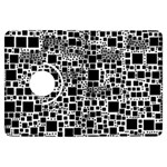 Block On Block, B&w Kindle Fire HDX Flip 360 Case Front