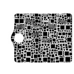 Block On Block, B&w Kindle Fire HDX 8.9  Flip 360 Case Front