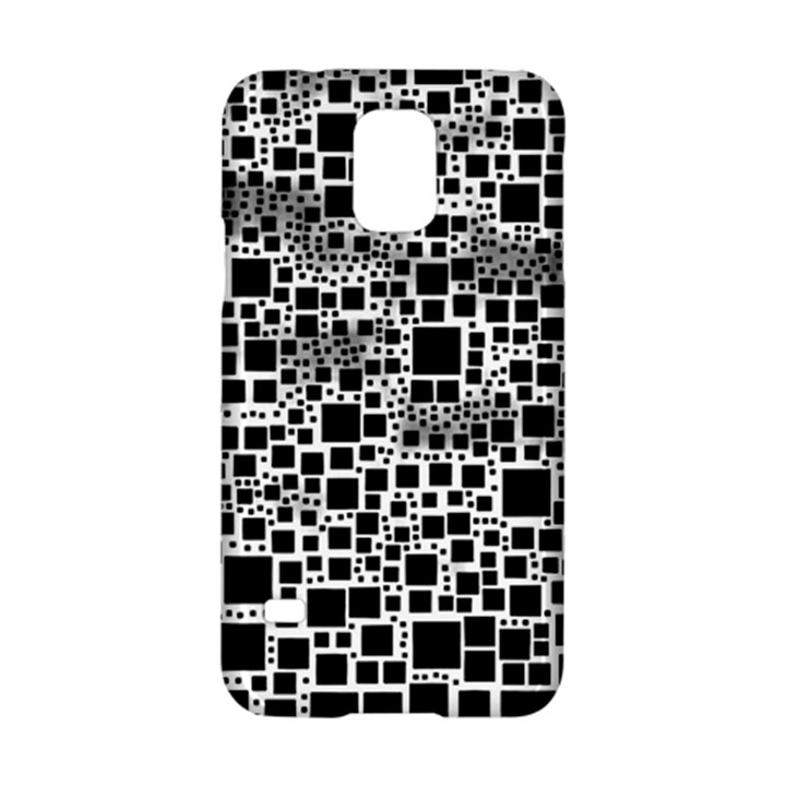 Block On Block, B&w Samsung Galaxy S5 Hardshell Case