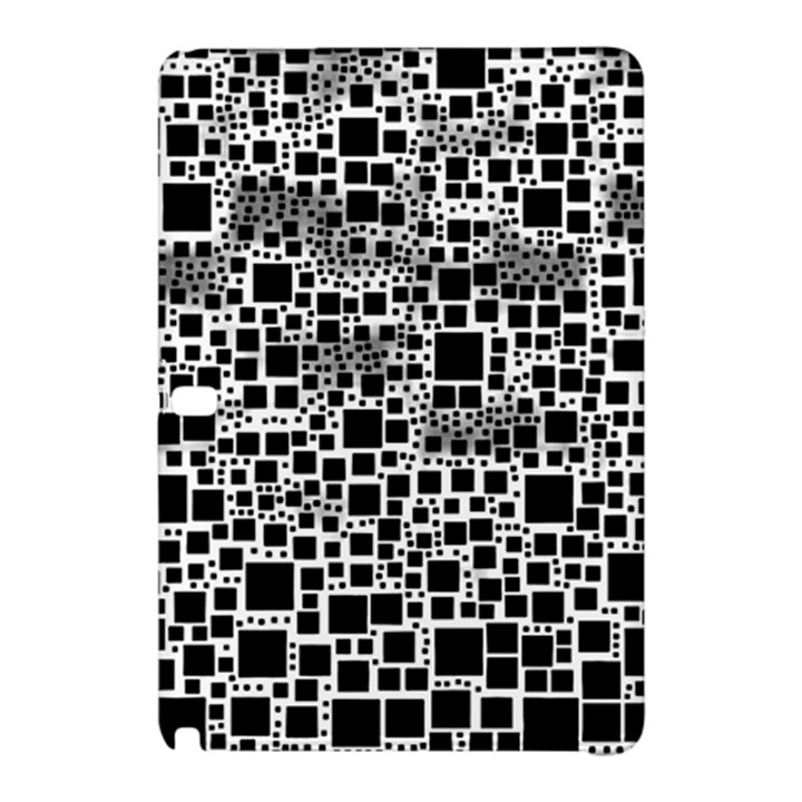 Block On Block, B&w Samsung Galaxy Tab Pro 10.1 Hardshell Case