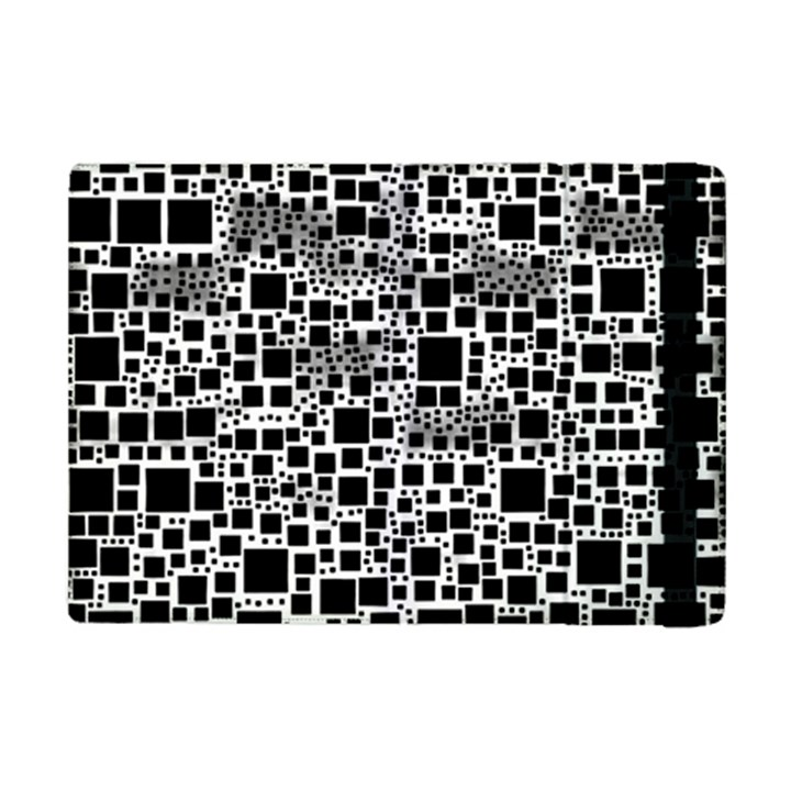 Block On Block, B&w iPad Mini 2 Flip Cases
