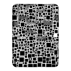 Block On Block, B&w Samsung Galaxy Tab 4 (10 1 ) Hardshell Case