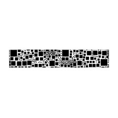 Block On Block, B&w Flano Scarf (Mini)