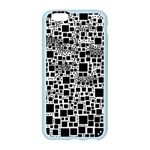 Block On Block, B&w Apple Seamless iPhone 6/6S Case (Color) Front