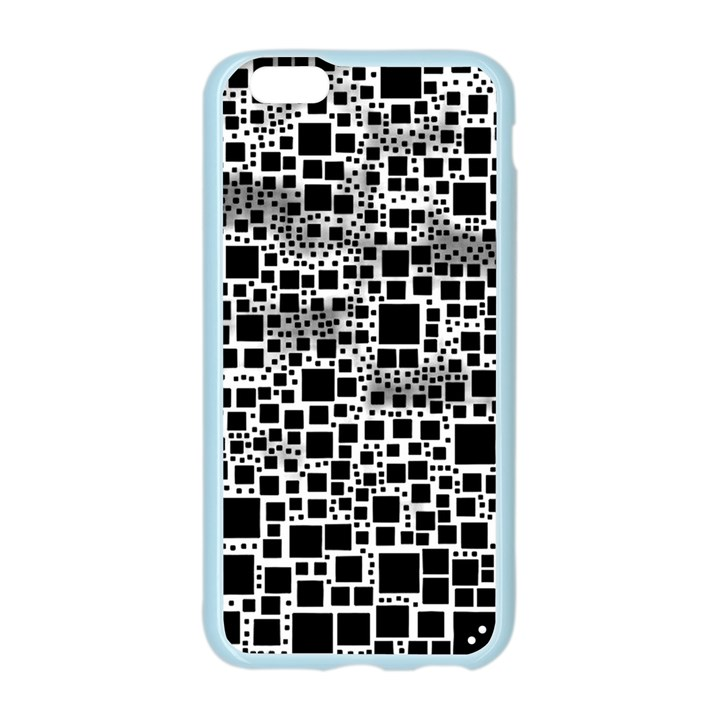 Block On Block, B&w Apple Seamless iPhone 6/6S Case (Color)