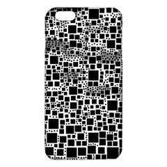 Block On Block, B&w iPhone 6 Plus/6S Plus TPU Case