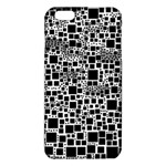 Block On Block, B&w iPhone 6 Plus/6S Plus TPU Case Front