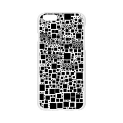 Block On Block, B&w Apple Seamless iPhone 6/6S Case (Transparent)