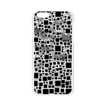 Block On Block, B&w Apple Seamless iPhone 6/6S Case (Transparent) Front