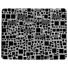 Block On Block, B&w Jigsaw Puzzle Photo Stand (Rectangular)