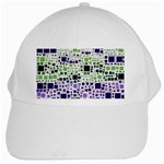 Block On Block, Purple White Cap Front