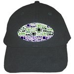Block On Block, Purple Black Cap Front