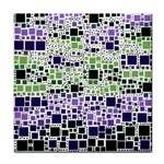 Block On Block, Purple Tile Coasters Front