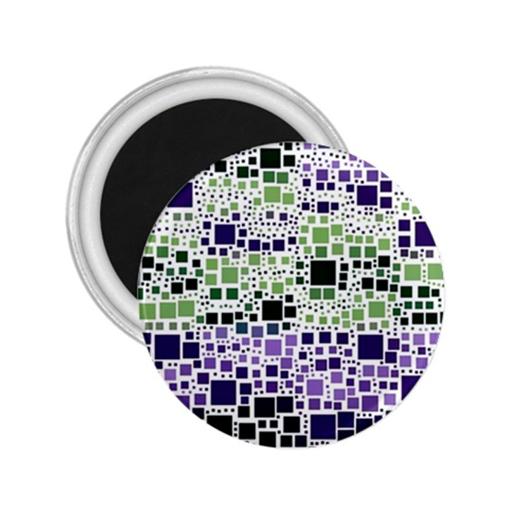 Block On Block, Purple 2.25  Magnets