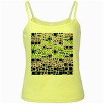 Block On Block, Purple Yellow Spaghetti Tank Front