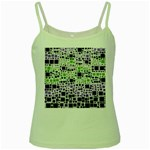 Block On Block, Purple Green Spaghetti Tank Front