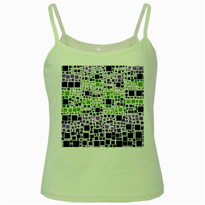 Block On Block, Purple Green Spaghetti Tank