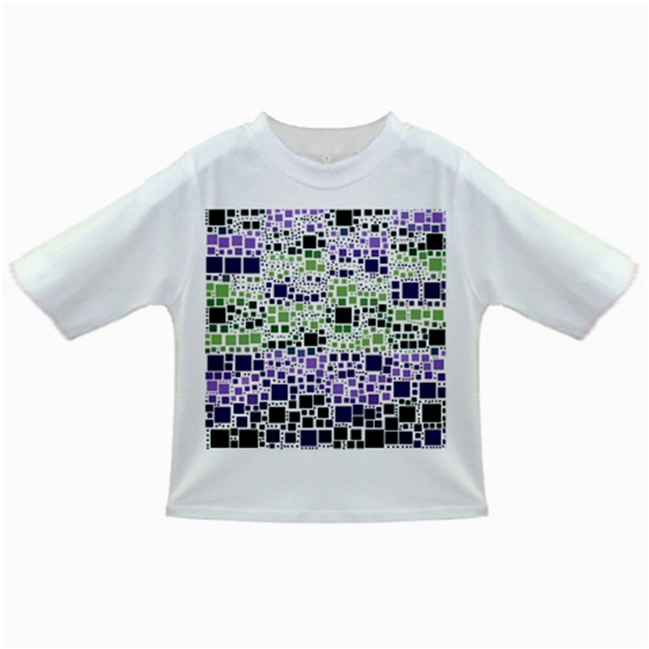 Block On Block, Purple Infant/Toddler T-Shirts
