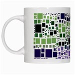 Block On Block, Purple White Mugs Left