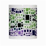 Block On Block, Purple White Mugs Center