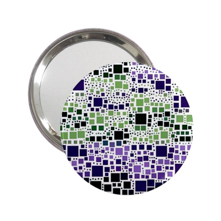 Block On Block, Purple 2.25  Handbag Mirrors