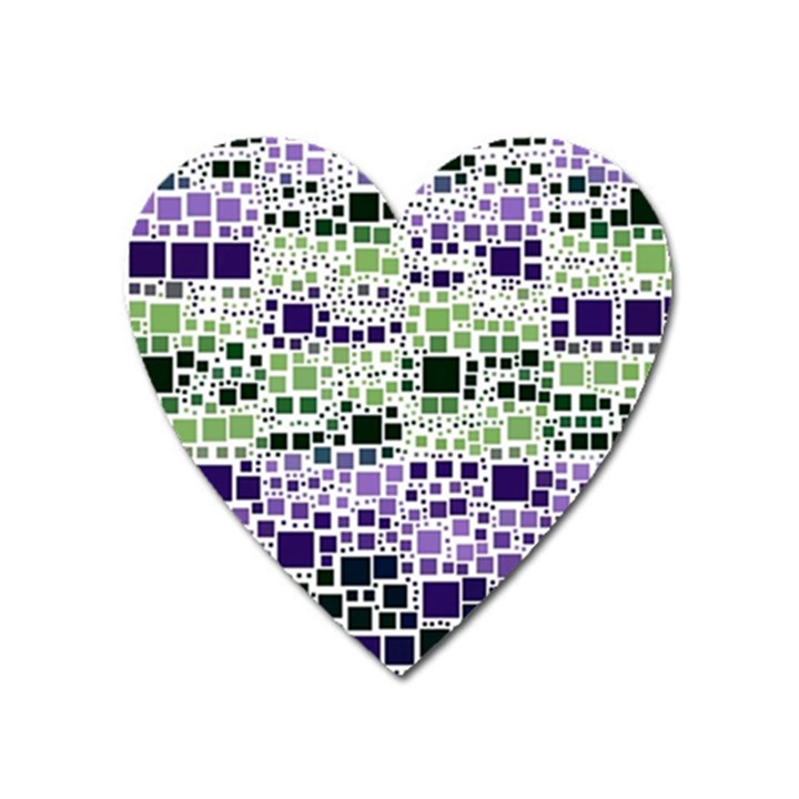 Block On Block, Purple Heart Magnet