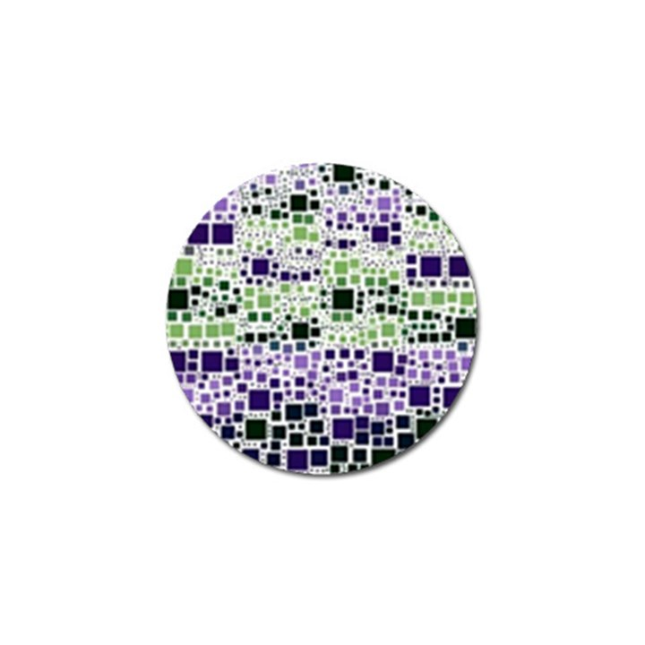 Block On Block, Purple Golf Ball Marker