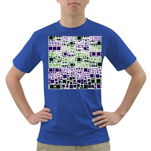 Block On Block, Purple Dark T-Shirt