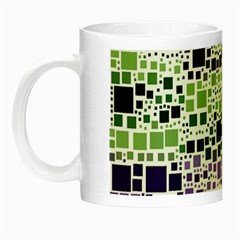Block On Block, Purple Night Luminous Mugs